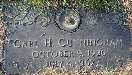 CUNNINGHAM, CARL H. - Minnehaha County, South Dakota | CARL H. CUNNINGHAM - South Dakota Gravestone Photos