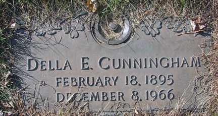 CUNNINGHAM, DELLA E. - Minnehaha County, South Dakota | DELLA E. CUNNINGHAM - South Dakota Gravestone Photos