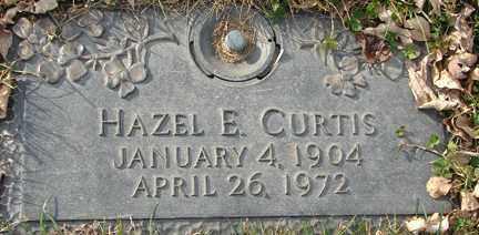 CURTIS, HAZEL E. - Minnehaha County, South Dakota   HAZEL E. CURTIS - South Dakota Gravestone Photos