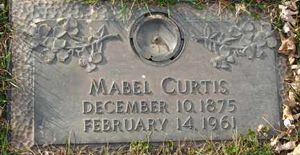 CURTIS, MABEL - Minnehaha County, South Dakota | MABEL CURTIS - South Dakota Gravestone Photos
