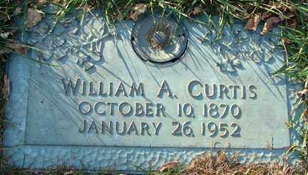 CURTIS, WILLIAM A. - Minnehaha County, South Dakota | WILLIAM A. CURTIS - South Dakota Gravestone Photos