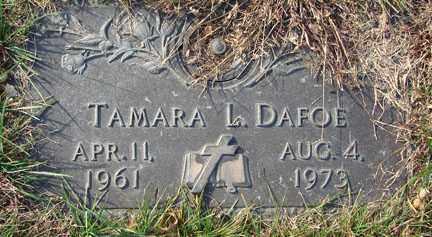 DAFOE, TAMARA L. - Minnehaha County, South Dakota | TAMARA L. DAFOE - South Dakota Gravestone Photos
