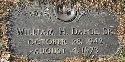 DAFOE, WILLIAM H. SR. - Minnehaha County, South Dakota | WILLIAM H. SR. DAFOE - South Dakota Gravestone Photos