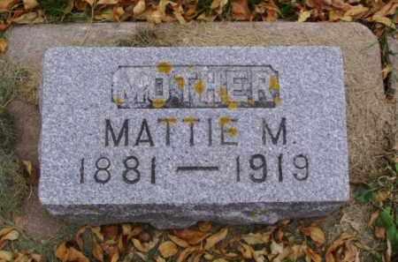 DAGGETT, MATTIE M. - Minnehaha County, South Dakota | MATTIE M. DAGGETT - South Dakota Gravestone Photos