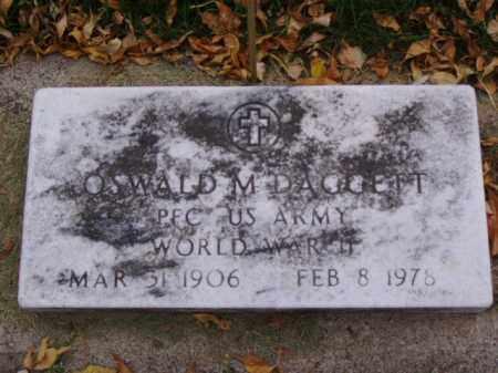 DAGGETT, OSWALD M. - Minnehaha County, South Dakota | OSWALD M. DAGGETT - South Dakota Gravestone Photos