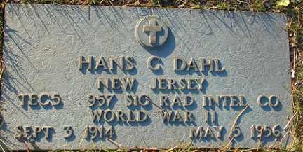 DAHL, HANS C. - Minnehaha County, South Dakota | HANS C. DAHL - South Dakota Gravestone Photos