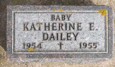 DAILEY, KATHERINE E. - Minnehaha County, South Dakota | KATHERINE E. DAILEY - South Dakota Gravestone Photos