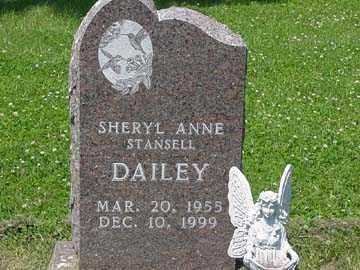 STANSELL DAILEY, SHERYL  ANNE - Minnehaha County, South Dakota | SHERYL  ANNE STANSELL DAILEY - South Dakota Gravestone Photos