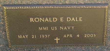 DALE, RONALD E. (MILITARY) - Minnehaha County, South Dakota | RONALD E. (MILITARY) DALE - South Dakota Gravestone Photos