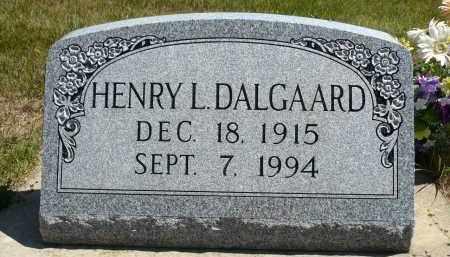 DALGAARD, HENRY L. - Minnehaha County, South Dakota | HENRY L. DALGAARD - South Dakota Gravestone Photos