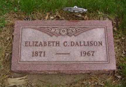 DALLISON, ELIZABETH C. - Minnehaha County, South Dakota | ELIZABETH C. DALLISON - South Dakota Gravestone Photos