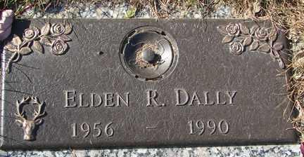 DALLY, ELDEN R. - Minnehaha County, South Dakota   ELDEN R. DALLY - South Dakota Gravestone Photos