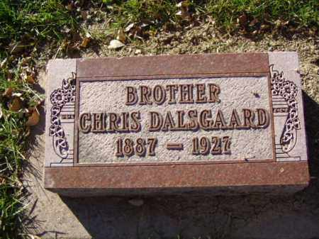 DALSGAARD, CHRIS - Minnehaha County, South Dakota | CHRIS DALSGAARD - South Dakota Gravestone Photos