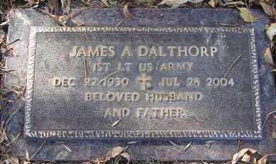 DALTHORP, JAMES A. - Minnehaha County, South Dakota | JAMES A. DALTHORP - South Dakota Gravestone Photos