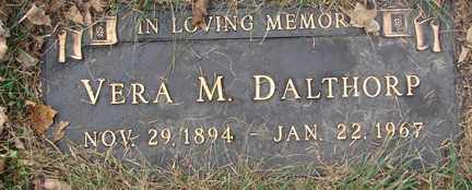 DALTHORP, VERA M. - Minnehaha County, South Dakota | VERA M. DALTHORP - South Dakota Gravestone Photos