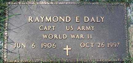DALY, RAYMOND E. - Minnehaha County, South Dakota | RAYMOND E. DALY - South Dakota Gravestone Photos