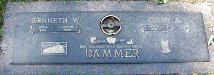 DAMMER, KENNETH W. - Minnehaha County, South Dakota   KENNETH W. DAMMER - South Dakota Gravestone Photos