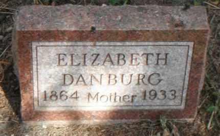 DANBURG, ELIZABETH - Minnehaha County, South Dakota | ELIZABETH DANBURG - South Dakota Gravestone Photos