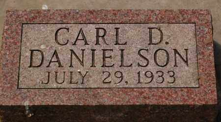 DANIELSON, CARL D. - Minnehaha County, South Dakota | CARL D. DANIELSON - South Dakota Gravestone Photos