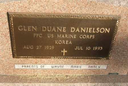 DANIELSON, GLEN DUANE - Minnehaha County, South Dakota   GLEN DUANE DANIELSON - South Dakota Gravestone Photos