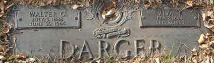 DARGER, WALTER C. - Minnehaha County, South Dakota   WALTER C. DARGER - South Dakota Gravestone Photos