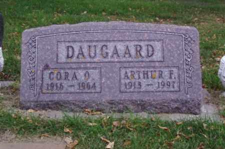 DAUGAARD, CORA O. - Minnehaha County, South Dakota | CORA O. DAUGAARD - South Dakota Gravestone Photos