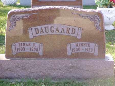 DAUGAARD, SARAH WILHELMINA - Minnehaha County, South Dakota | SARAH WILHELMINA DAUGAARD - South Dakota Gravestone Photos