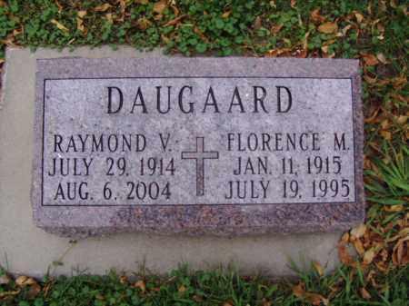 DAUGAARD, RAYMOND V. - Minnehaha County, South Dakota | RAYMOND V. DAUGAARD - South Dakota Gravestone Photos