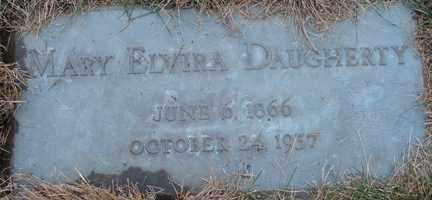 DAUGHERTY, MARY ELVIRA - Minnehaha County, South Dakota | MARY ELVIRA DAUGHERTY - South Dakota Gravestone Photos