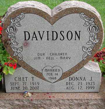 DAVIDSON, DONNA J. - Minnehaha County, South Dakota | DONNA J. DAVIDSON - South Dakota Gravestone Photos