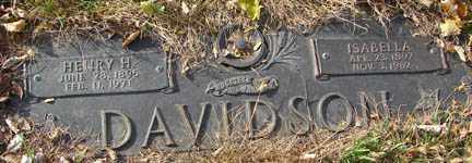 DAVIDSON, HENRY H. - Minnehaha County, South Dakota | HENRY H. DAVIDSON - South Dakota Gravestone Photos