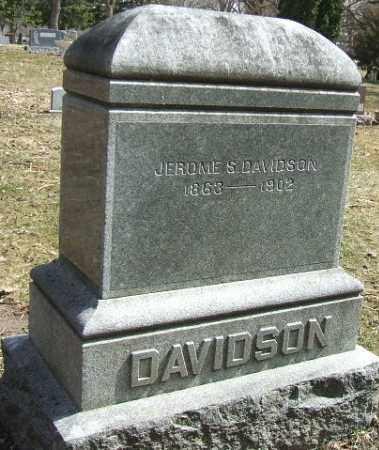 DAVIDSON, JEROME S. - Minnehaha County, South Dakota | JEROME S. DAVIDSON - South Dakota Gravestone Photos