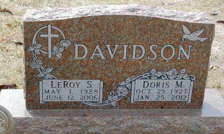 DAVIDSON, LEROY S. - Minnehaha County, South Dakota | LEROY S. DAVIDSON - South Dakota Gravestone Photos