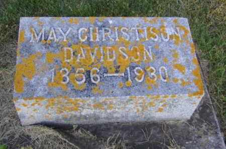 CHRISTISON DAVIDSON, MAY - Minnehaha County, South Dakota | MAY CHRISTISON DAVIDSON - South Dakota Gravestone Photos