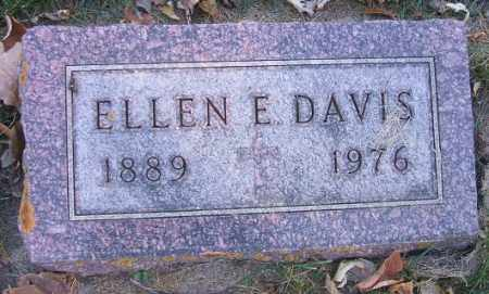 DAVIS, ELLEN E. - Minnehaha County, South Dakota   ELLEN E. DAVIS - South Dakota Gravestone Photos