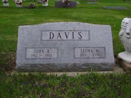 PETERSON DAVIS, LEONA M. - Minnehaha County, South Dakota | LEONA M. PETERSON DAVIS - South Dakota Gravestone Photos
