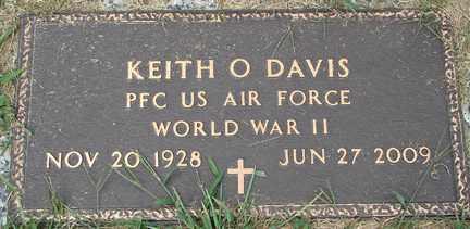 DAVIS, KEITH O. (WWII) - Minnehaha County, South Dakota | KEITH O. (WWII) DAVIS - South Dakota Gravestone Photos