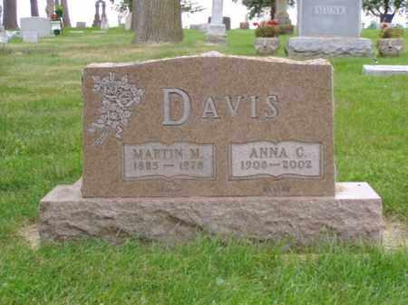 DAVIS, MARTIN M. - Minnehaha County, South Dakota | MARTIN M. DAVIS - South Dakota Gravestone Photos