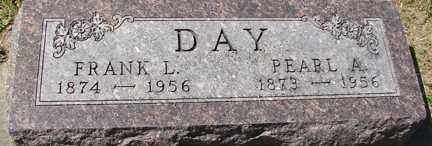 DAY, FRANK L. - Minnehaha County, South Dakota   FRANK L. DAY - South Dakota Gravestone Photos