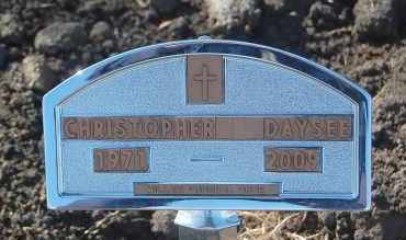 DAYSEE, CHROSTOPHER - Minnehaha County, South Dakota | CHROSTOPHER DAYSEE - South Dakota Gravestone Photos