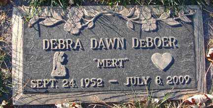 DE BOER, DEBRA DAWN - Minnehaha County, South Dakota | DEBRA DAWN DE BOER - South Dakota Gravestone Photos
