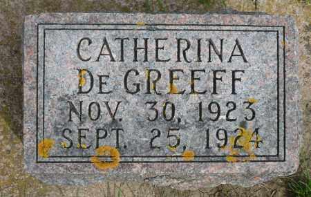 DE GREEFF, CATHERINA - Minnehaha County, South Dakota   CATHERINA DE GREEFF - South Dakota Gravestone Photos