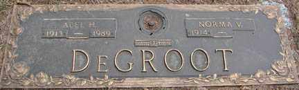 DE GROOT, ABEL H. - Minnehaha County, South Dakota | ABEL H. DE GROOT - South Dakota Gravestone Photos