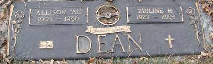 DEAN, PAULINE HELEN - Minnehaha County, South Dakota | PAULINE HELEN DEAN - South Dakota Gravestone Photos