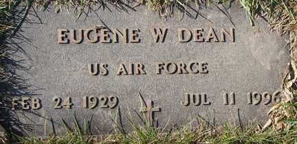 DEAN, EUGENE W. (MILITARY) - Minnehaha County, South Dakota | EUGENE W. (MILITARY) DEAN - South Dakota Gravestone Photos