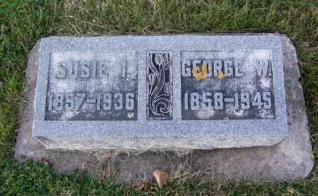 IRWIN DEAN, SUSAN NOBLE - Minnehaha County, South Dakota | SUSAN NOBLE IRWIN DEAN - South Dakota Gravestone Photos