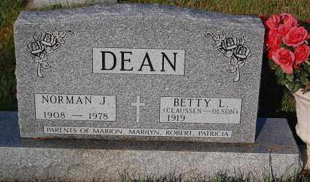 CLAUSSEN-OLSON DEAN, BETTY L. - Minnehaha County, South Dakota | BETTY L. CLAUSSEN-OLSON DEAN - South Dakota Gravestone Photos