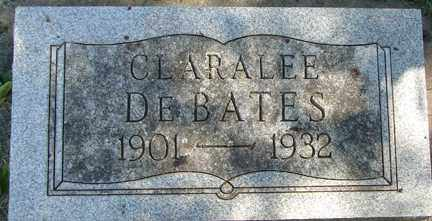 DEBATES, CLARALEE - Minnehaha County, South Dakota | CLARALEE DEBATES - South Dakota Gravestone Photos