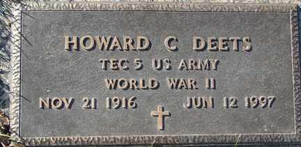 DEETS, HOWARD C. - Minnehaha County, South Dakota | HOWARD C. DEETS - South Dakota Gravestone Photos