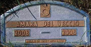 DEL VECCIO, AMARA - Minnehaha County, South Dakota   AMARA DEL VECCIO - South Dakota Gravestone Photos